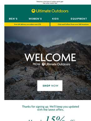 Welcome to Ultimate Outdoors - Everything Adventure