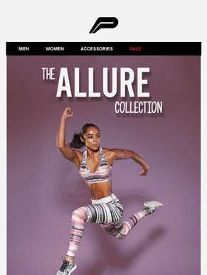 It's time for New Releases. The Allure collection.