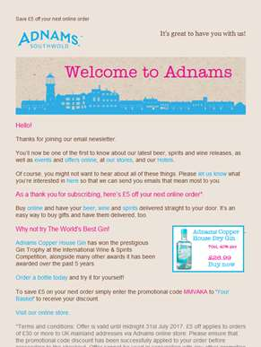 Welcome to Adnams