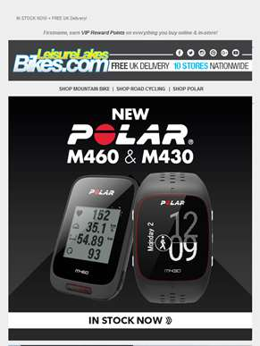 NEW - Polar GPS and HRM!