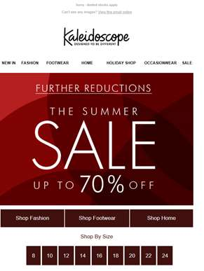 SALE - Further Reductions!
