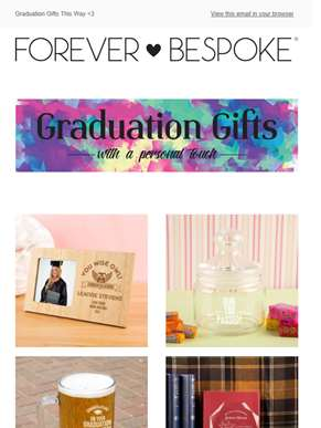 Graduation Gifts by Forever Bespoke