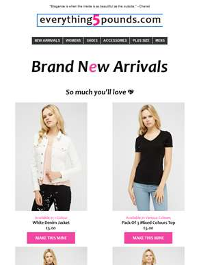 Feeling the heat? We're talking about our new arrivals... ????