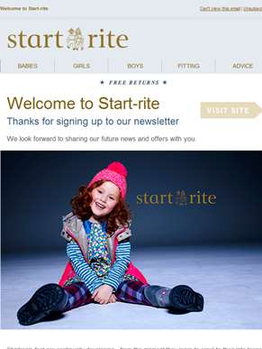 Welcome to Start-rite!