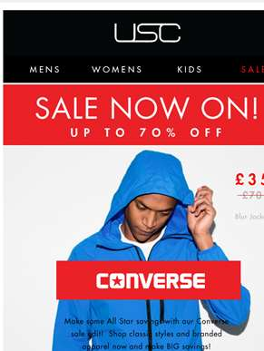 The Sunday Sale Edit! // MASSIVE savings on Converse!