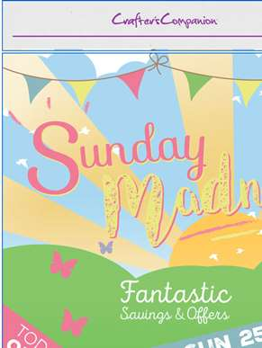 Fantastic offers in our Sunday Madness event!