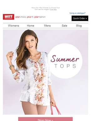 Perfect Summer Tops For Your Summer Wardrobe!