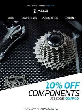 Time to save on Components!