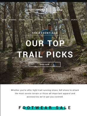 The Essentials | Our Top Trail Picks