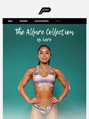 The ALLURE collection. Shop from... Now.