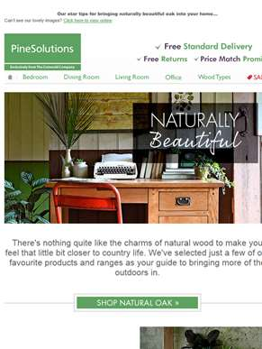 Discover The Charms of Natural Wood