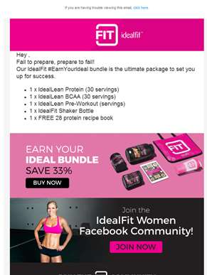 Earn Your Ideal with IdealFit Bundles