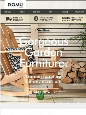Outdoor furniture for all...