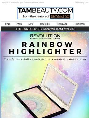 NEW Rainbow Highlighter ????