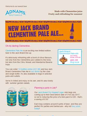 Ever had a beer brewed with clementines?