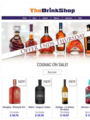 All Cognac And Brandy On Special Offer!