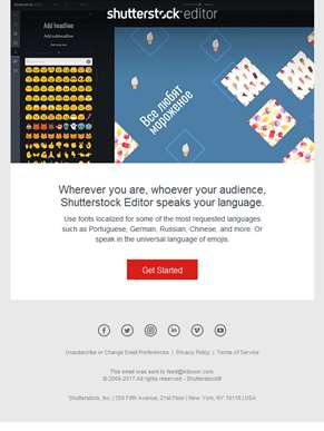 NEW: Express yourself with Shutterstock Editor ????????