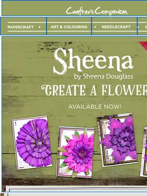 New additions to the Create a Flower range from Sheena Douglass!