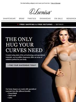 A hug for your curves: Shapewear