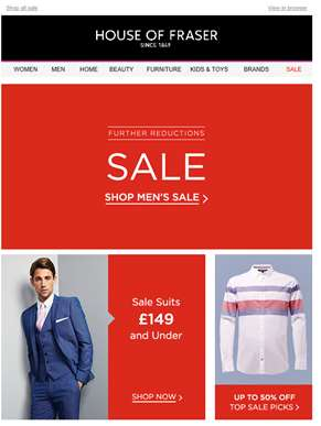 NOW ON: Further sale reductions