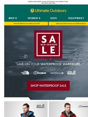 Shelter From The Storm - Save On Waterproofs