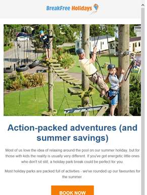 Action-packed activity holidays with Haven & Parkdean Resorts