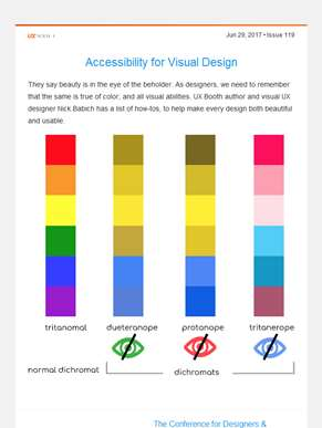 ??  UX Booth Weekly: Accessibility for Designers