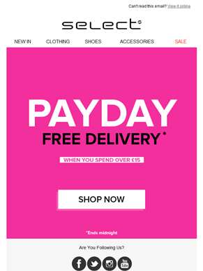 Hi Feedin! We know the Payday feeling, so we're giving you…