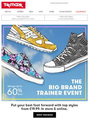 It's The Big Brand Trainer Event
