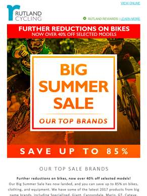 Big Summer Sale - Our Best Brand Highlights