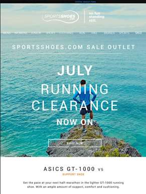 Sportsshoes Sale Outlet - July Running Clearance Now On