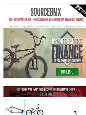 Treat yourself to BMX stuff today & pay later!??