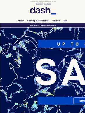 Sale - now up to 50% off