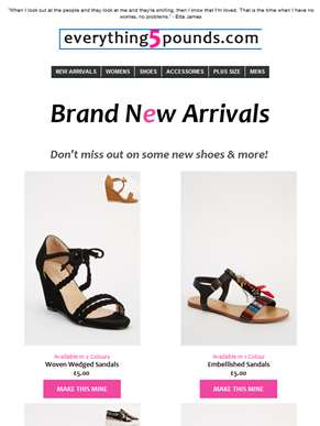 ?? Our new shoe collection ?- and more!