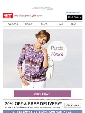 Shop Purple Haze… shades of summer
