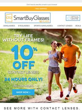 [10% Discount] Try life without frames ??