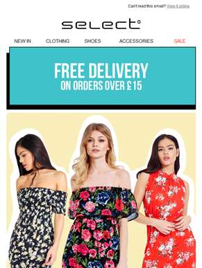 Be quick to get free shipping and our most wanted dresses!
