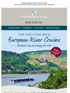Most Popular European River Cruises