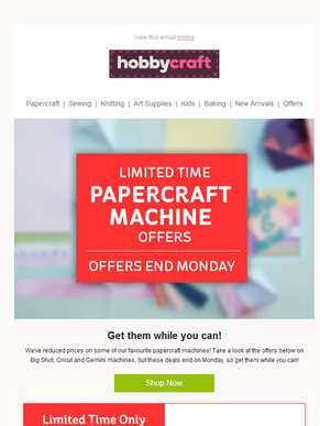 Save a bundle on these papercraft machines!