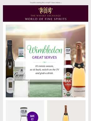 Drinks for Wimbledon
