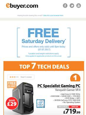Hi  - PC Specialist Core i5 Gaming PC - Only £719.99