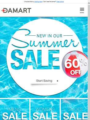 The Damart summer sale just got better