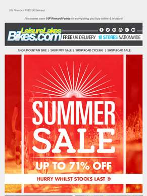 SUMMER SALE BEGINS! ?