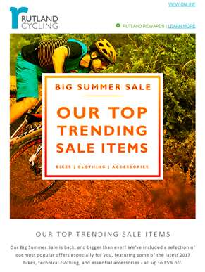 Big Summer Sale - Our Top Picks