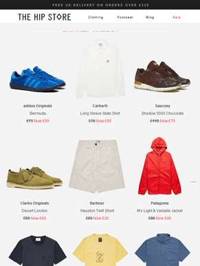 FURTHER REDUCTIONS - Hip selections