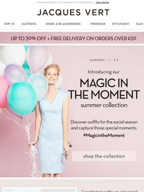 Introducing Magic in the Moment Summer Collection