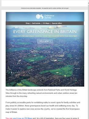 Introducing the first Greenspace Map of Great Britain!