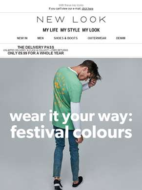 Sort your festival style