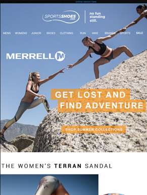 Out Of The Box & Into The Wild - The Merrell Summer Collection
