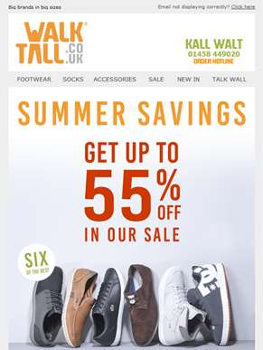 Up to 55% off in the sale + The sneaker of choice: Converse